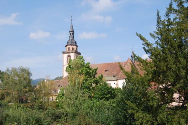 Domaine Gresser vins d'alice à Andlau - Vue village Andlau Alsace