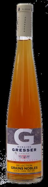 Clos de l'Ourse Pinot Gris Grains nobles-domaine gresser-vins-alsace