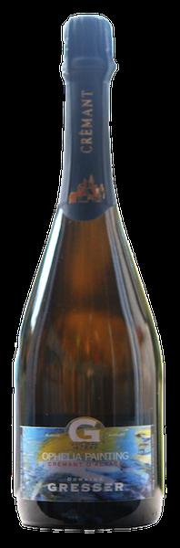 Cremant d'Alsace Ophélia Painting-domaine gresser-vins-alsace