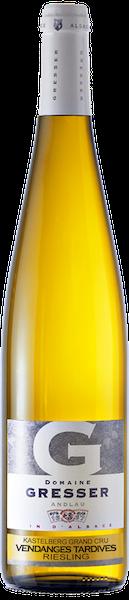 Kastelberg Grand Cru Riesling Vendanges tardives-domaine gresser-vins-alsace