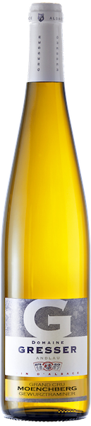 Moenchberg Grand cru Gewurztraminer-domaine gresser-vins-alsace